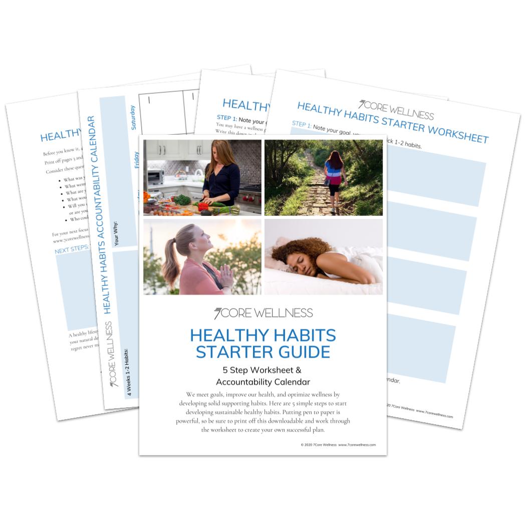 Fan of the Healthy Habits Starter Guide Downloadable
