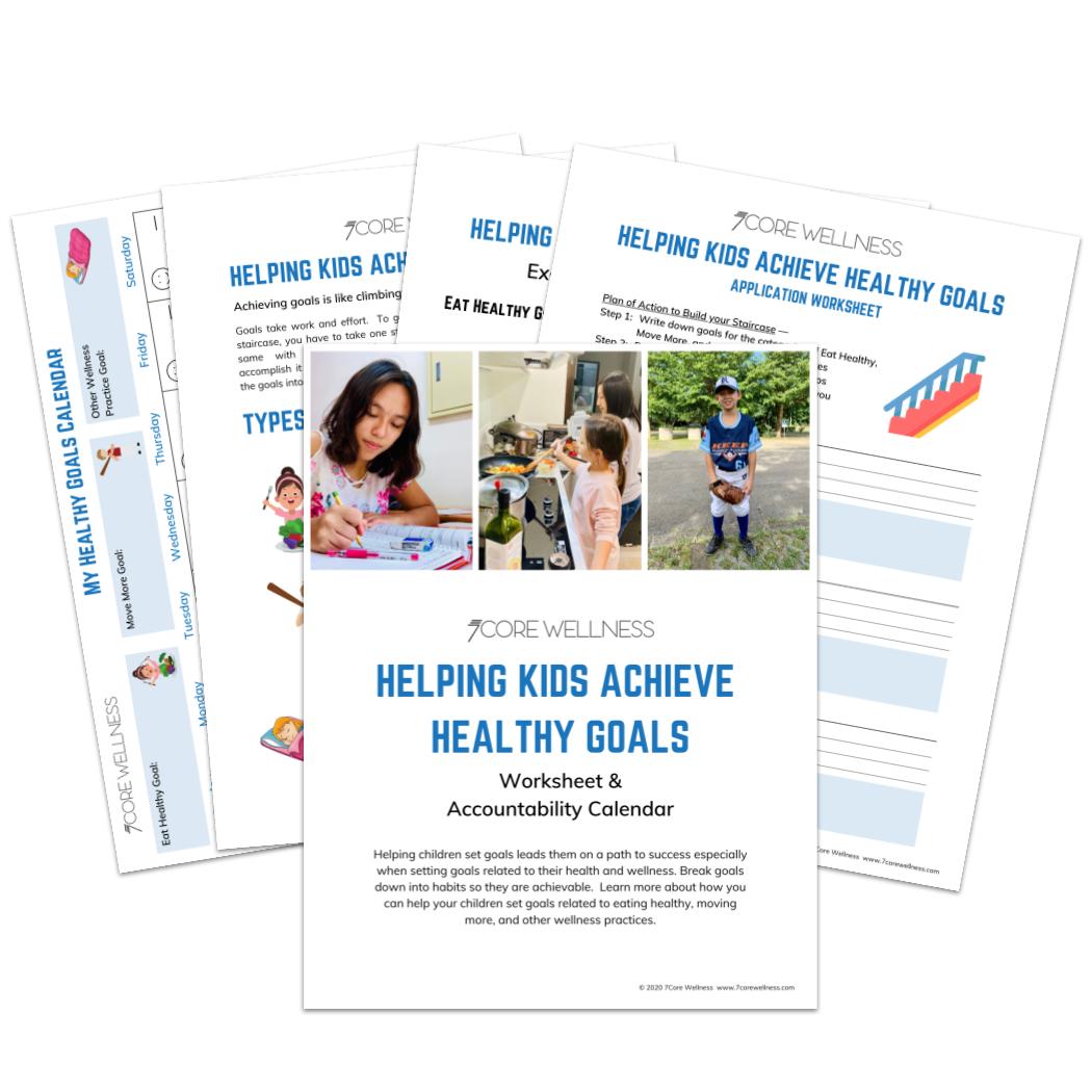 Kids & Goals Guide Flat Lay