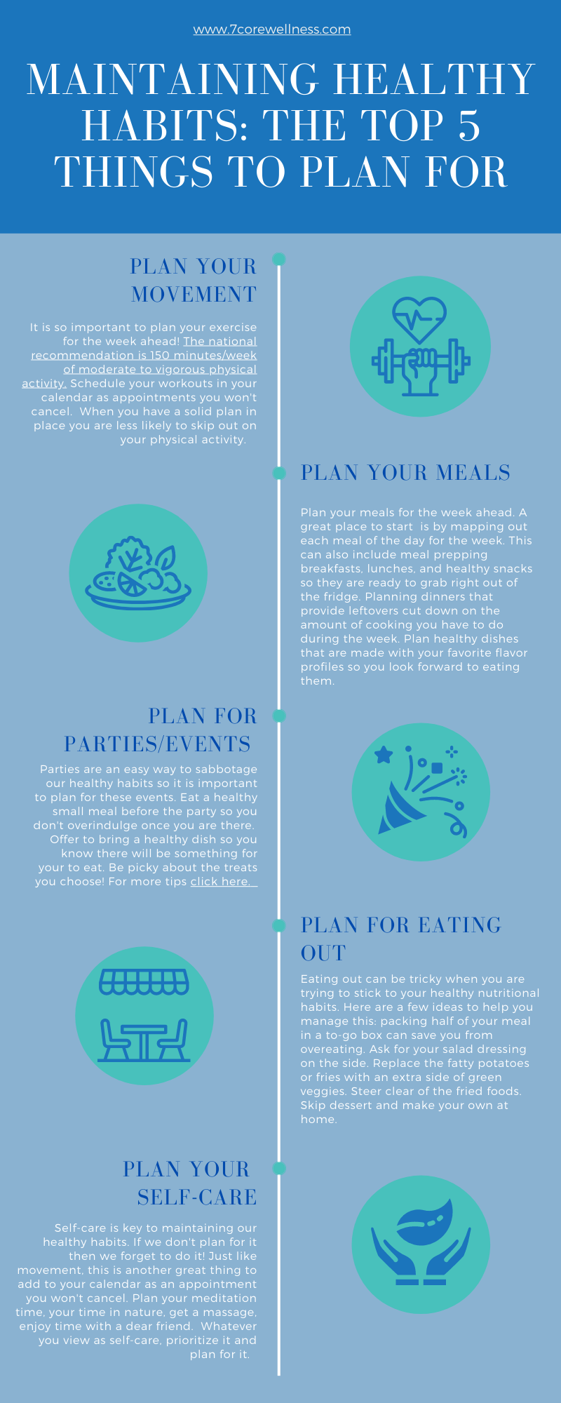 Infographic: Maintaining Healthy Habits_ Top 5 Things to Plan For