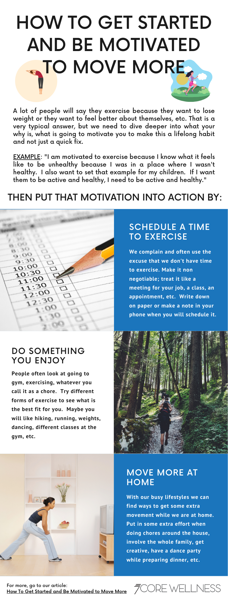Motivated to Move infographic