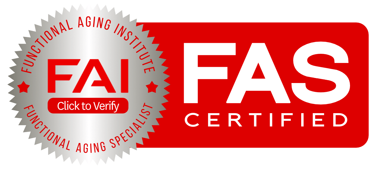 Functional Aging Specialist Certified Logo