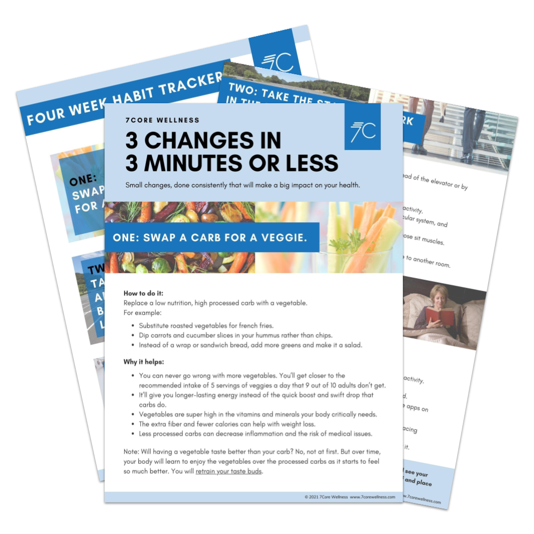Image of the 3 Changes in 3 Minutes or Less sheets